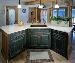 Distressed Kitchen Cabinets Kitchen Cabinets Rustic Rustic Painted Kitchen Cabinets Rustic