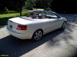luxury 2006 audi a4 convertible family car to be bought