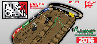 2016 aus x open track map revealed australasian dirt bike magazine