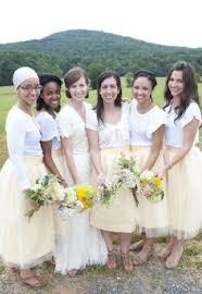 tulle skirt bridesmaid the bridesmaid tulle skirt look we tulle skirts offbeat