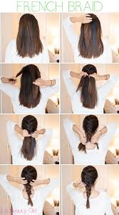 hair tutorials for medium hair french braid tutorial for medium hair pictures photos and images
