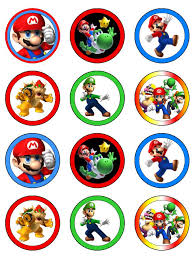 mario cake toppers pin by crafty annabelle on mario brothers printables