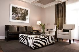 Animal Print Chairs Living Room by Furniture Stylish And Functional Animal Print Ottoman For