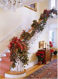 Decorate Outdoor Railing Christmas by 12 Beautiful Staircases To Sneak Down On Christmas Eve Banisters