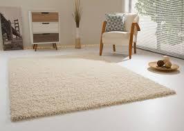 Schlafzimmer Teppich Taupe Hochflor Teppich Shaggy Teppich Langflor Teppich