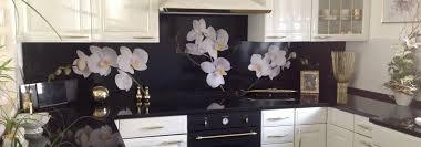 wandverkleidung k che möchten sie auch eine tolle küchenrückwand orchideen als