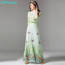 maxi dresses with sleeves qyfcioufu new high quality maxi dresses women s summer half sleeve