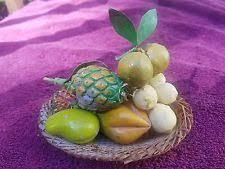 Fake Fruit Centerpieces by Ceramic Fruit Ebay