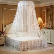 letto casa tenda di pizzo soffitto netto zanzariera per letto matrimoniale