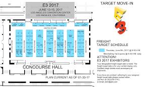e3 2017 preliminary floor plans nintendo everything