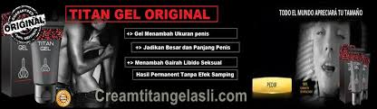 order cream titan gel asli cream titan gel asli