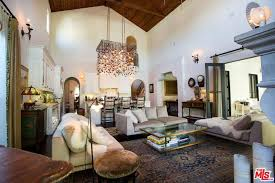 first floor in spanish khloe kardashian tristan thompson los angeles house hunting