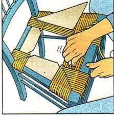 rempailler une chaise rempailler une chaise projets à essayer upcycled