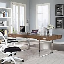 Mid Century Modern Office Desk Modway Model Eei 293 Tinker Mid Century Modern Executive Writing Desk