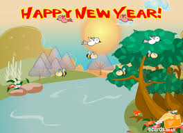e card ecards happy new year