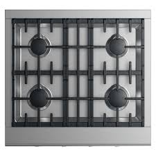 Cooktops Gas 30 Inch Dcs 30 Inch Professional 4 Burner Natural Gas Cooktop Cpv2 304 N