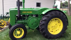 starting u0026 driving 1945 john deere model d tractor youtube