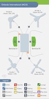 mco terminal map orlando airport mco terminal map