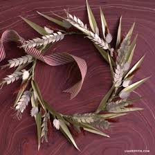 turkey feather wreath wreath lia griffith