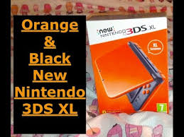 black friday new nintendo 3ds solgaleo black edition amazon new nintendo 3ds xl orange u0026 black unboxing english youtube