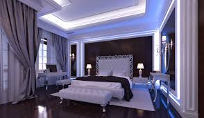indesignclub glamour bedroom interior in luxury neoclassical style