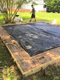 how to make a backyard fire pit he turns this dirty old dog lot into a stunning backyard fire pit