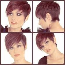 womens hairstyles short front longer back short in the back longer in the front pixie cut by bettye hair