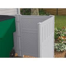 suncast reversible outdoor single panel screen enclosure hayneedle