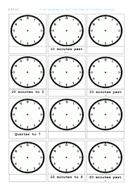 reading a clock telling time analogue and digital by mip2k