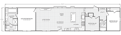 Fleetwood Manufactured Home Floor Plans 16763l Fleetwood Green Hill Manufactured Mobile Home For Sale 16x76