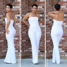 all white jumpsuits dvf lace jumpsuit earrings mimigstyle ootd my diy