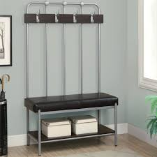 foyer bench seat benches entryway bench seat with hat coat rack