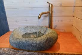 Stone Bathroom Sinks by How To Carve A Stone Sink In 4 Hours Installation Youtube