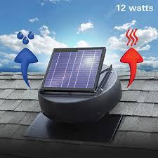 solar attic fan costco solar attic fan ventilates 1 350 sq ft