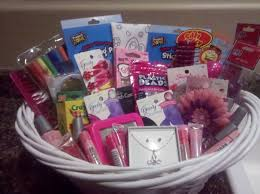 gifts to give the from the of honor flower girl gift basket i really like this idea you always see