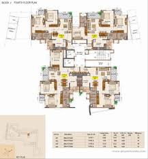 Infinity Floor Plans by Ajmera Infinity Electronic City Bangalore Residential Project