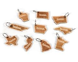 wooden keychains wooden keychains choose your state home state apparel