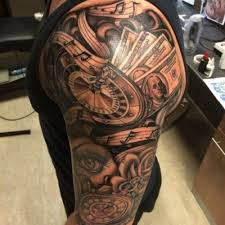 half sleeve tattoos for