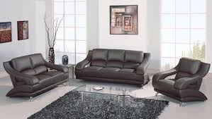Modern Leather Living Room Furniture Fantastic Gray Leather Living Room Furniture 93 For With Gray