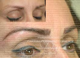 704 796 8221 correction of old tattooed eyebrows permanent makeup