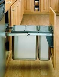 Kitchen Cabinet Trash Can Pull Out 20 Best Pull Out Trash Cans Images On Pinterest Waste Container