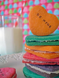 make valentine u0027s day conversation heart cookies hgtv