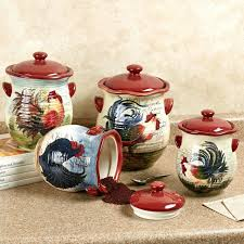 rustic kitchen canister sets articles with rustic rooster wall decor tag rooster wall decor