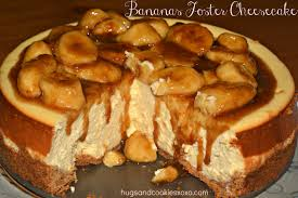 bananas foster cheesecake hugs and cookies xoxo