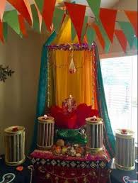 decoration themes for ganesh festival at home table decoration ideas for ganpati utsav at home 360 complete home