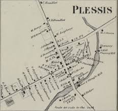 Frost Line Map History Of Plessis Village New York New York Genealogy