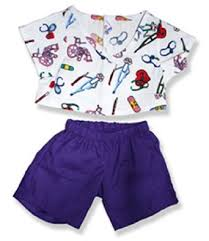 teddy clothes scrubs teddy clothes to fit build a