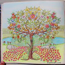 secret garden johanna basford clara ortega arbol johanna basford