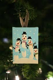 hand print snowman ornaments eighteen25