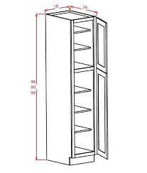 84 inch tall cabinet 84 pantry cabinet wall pantry cabinet inch by inch by inch shaker